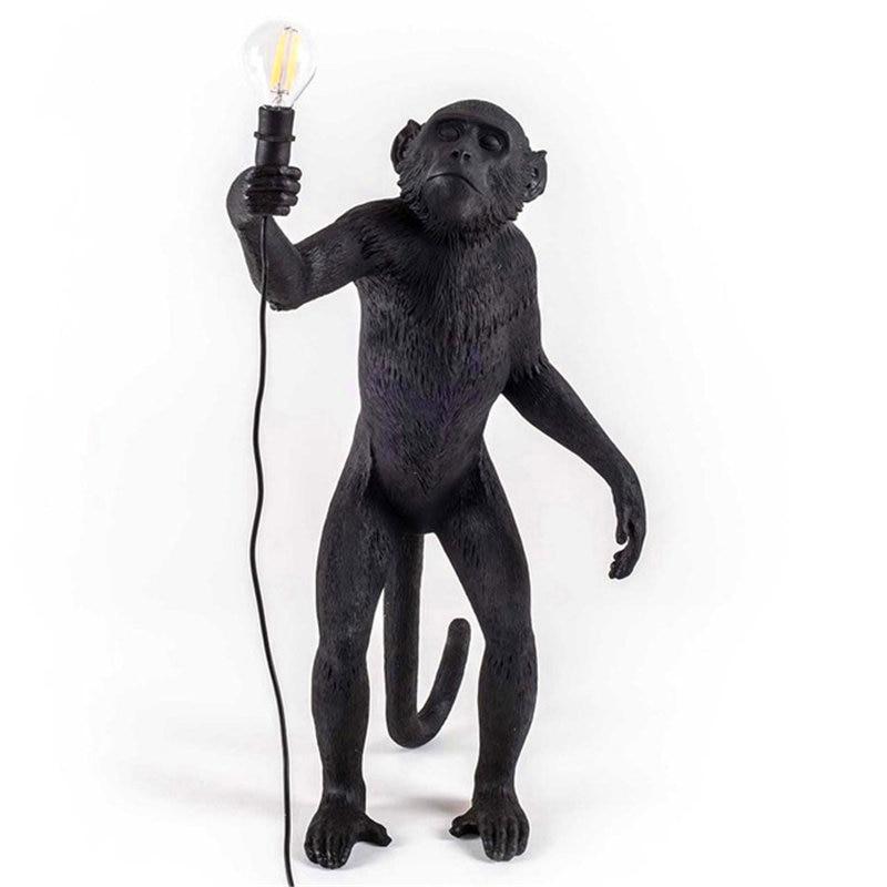 Arrive dans les 7 jours! Moderne pendentif LED lumières résine singe lampe LOFT suspension lampe salon chambre Restaurant Bar cuisine luminaires suspendus lampe - 5