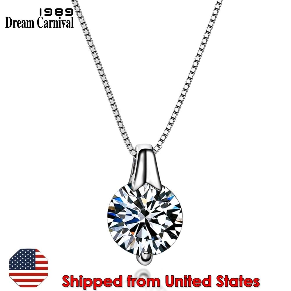 SZ10957 925 cz pendant necklace-1000 US