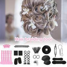 Hair Styling Tool Kit Hair Braiding Twis