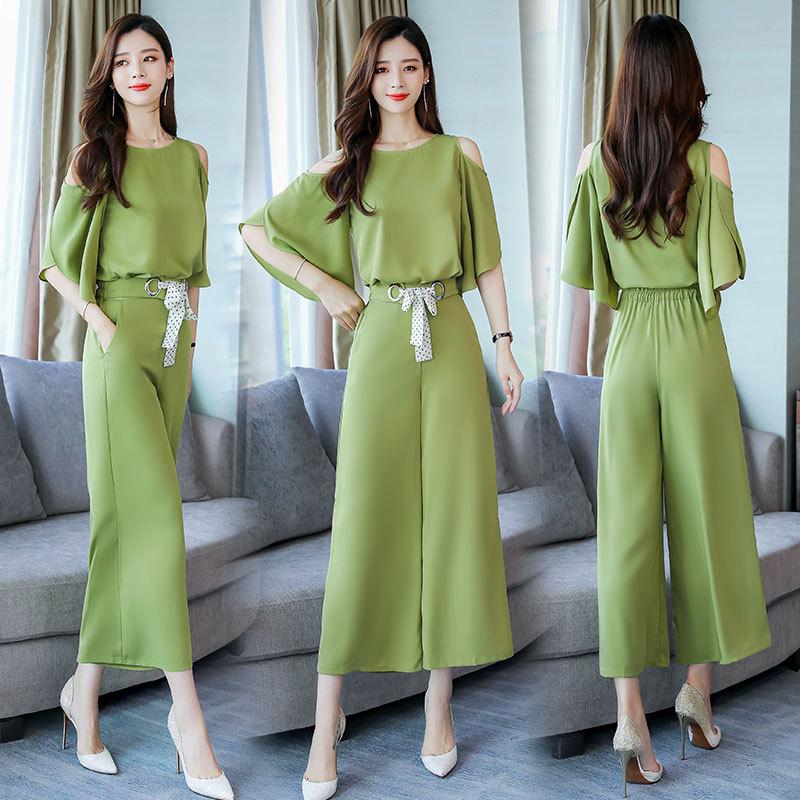 Set/Suit Skirt Fashion Comfortable 2019 Summer Elegant Slim Fit Cool Elegant