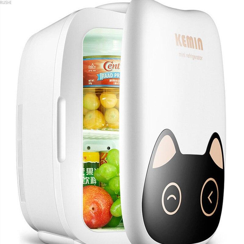 12V 220V Cute Car Mini Refrigerator  Domestic Refrigeration Portable Fridge Home  Mini Refrigerator  Mini Fridges  Fridge