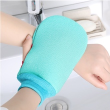 Plant Fiber Soft Bath Towel Set Thick Double-Sided Strong Decontamination Mud  Scrub Gloves Does Not Hurt The Skin