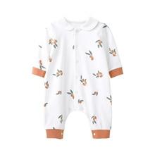 Baby Jumpsuit Pajamas Coverall Baby-Boy-Girl Romper Long-Sleeve Newborn Unisex Cotton