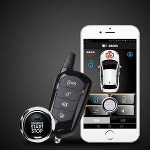 Универсальная автомобильная Противоугонная сигнализация, удобная система дистанционного управления без ключа, версия 2020