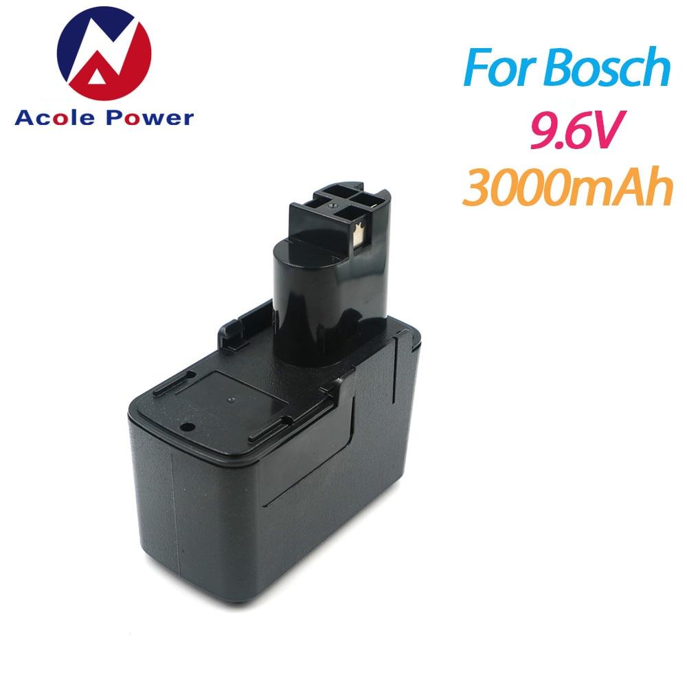 Лидер продаж для инструментов Bosch BAT001 BH-974H 9,6 V 3000 мА/ч, металл-гидридных или никель Перезаряжаемые Батарея GSR 9,6 VE PSR BPT1041 BH984 BAT119 BAT100 BAT048