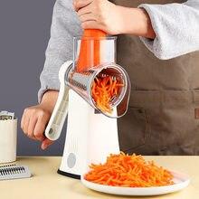 2021 Multifunctional Vegetable Cutter Manual Vegetable Slicers Round Mandoline Slicer Potato Wavy Shredder Kitchen Gadgets Tools