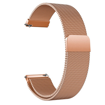 silicone rubber watch band 18mm 20mm 22mm for citizen stainless steel pin clasp watchband strap quick release loop belt bracelet 16mm 18mm 20mm 22mm 24mm Metal Stainless Steel Milanese Loop Magnetic Mesh Watch Bracelet Strap band with Quick Release Pins