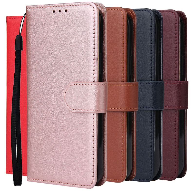 Wallet Case For Samsung Galaxy S10 Lite 5G S5 S6 S7 Edge S8 S9 S20 S 10 9 8 20 Plus S20Ultra S10e <font><b>S105G</b></font> Flip Leather Case Coque image