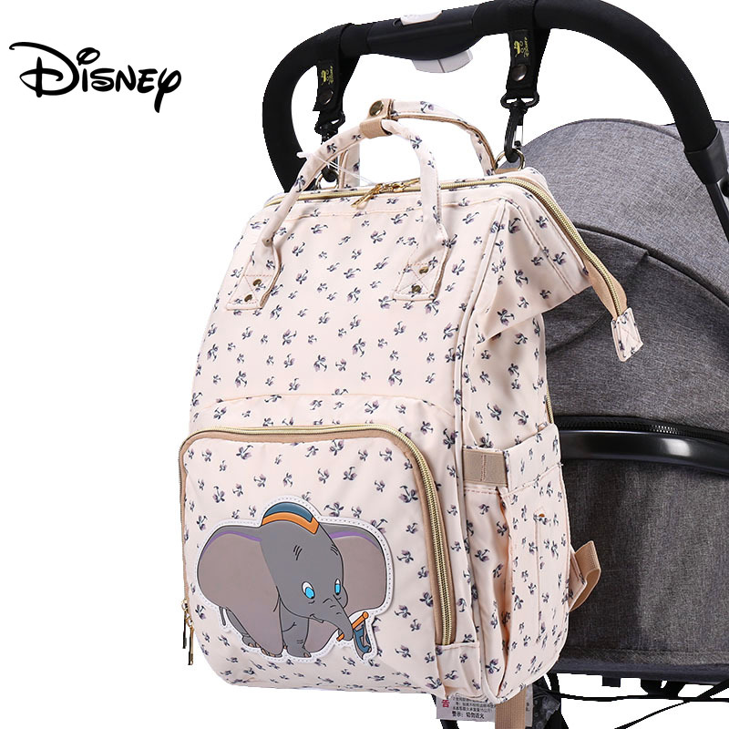 Disney Diaper Bag Backpack Baby Bags For Mom Wet Bag Fashion Mummy Maternity Diaper Organizer Mickey Minnie Mother Pram Bag Good
