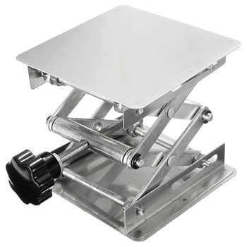 Laboratory Manual Stainless Steel Lifting Platform 100X 100mm Small Lifting Platform - DISCOUNT ITEM  70 OFF Tools