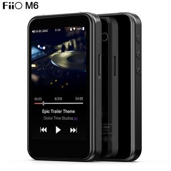 FiiO M6 Hi-Res Lossless Music Player AK4377 32bit/384kHz DSD128 Bluetooth Portable MP3 USB DAC LDAC/AAC/aptX HD/aptX 1