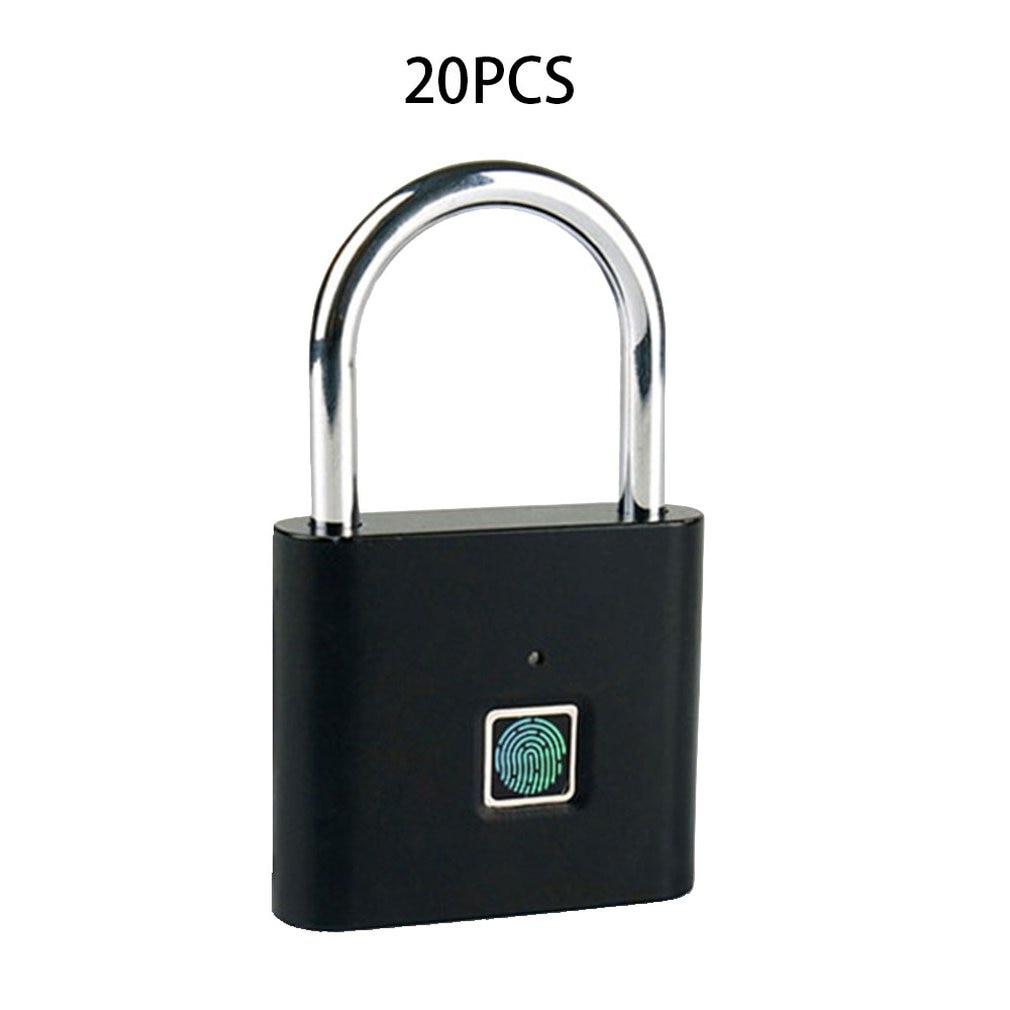 Fingerprint Padlock Smart Padlock Small Lock Fingerprint Cabinet Lock Cabinet Lock Dormitory Anti-theft Lock