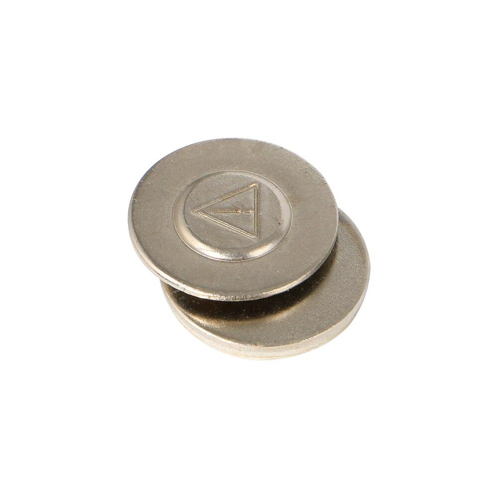 Image 2 - 20 шт/лот сильное одно магнитное название значок тега шпильки магнит ID держатель металлическая карта набор 17*17 ммАксессуары и держатели значков    АлиЭкспресс