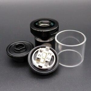 Image 3 - Hongxingjia Vape Zeus X RTA Atomizer parownik 3.5ml 4.5ml Pyrex szklany zbiornik pudełko na papierosy elektroniczne mody zestawy Vaper palacz