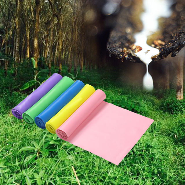 Elastic Resistance Bands Expanded Stretch Exercise Rubber Band Fitness Equipment 6