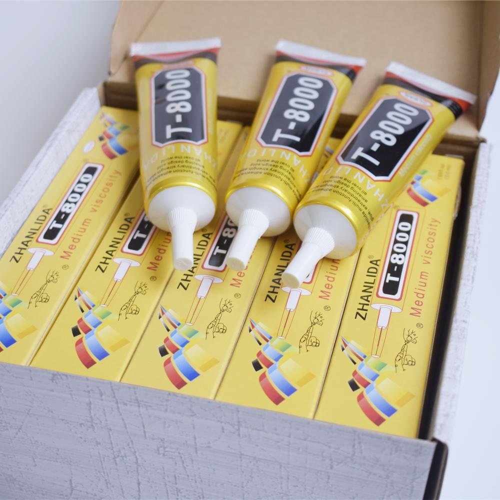 1 Pcs 15ml T-8000 Glue T8000 Multi Purpose Glue Adhesive Epoxy Resin Repair Cell Phone LCD Touch Screen Super Glue T 8000