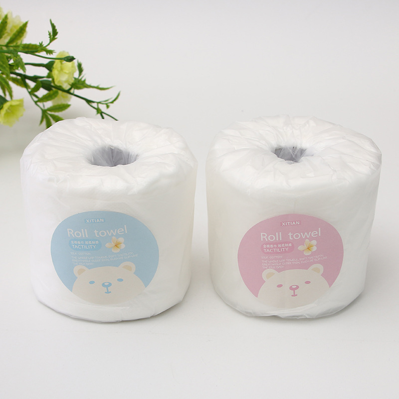 15 M Beauty Hospital Nonwoven Fabric Roll Tissue Disposable Washcloth Portable Beauty Cleaning Towel Manufacturers Direct Sellin