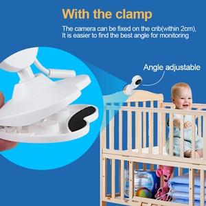 Image 5 - 4.3 אינץ בייבי מוניטור אלחוטי צבע מסך דו כיוונית אודיו תינוק מצלמה טמפרטורת זיהוי ביטחון מטפלת מצלמה ראיית לילה