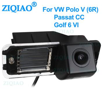 ZIQIAO dla Volkswagen Golf 6 MK6 Polo 6R Passat CC Magotan VW Bora dedykowana kamera cofania HD HS051 tanie i dobre opinie CN (pochodzenie) Szkło Przewodowa Zapasowe kamery do auta ACCESSORIES Tylna strona Z tworzywa sztucznego VW Golf 6 camera 2009 2010 2011 2012