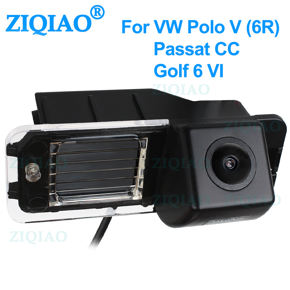 ZIQIAO for Volkswagen Golf 6 7 GT Polo 6R V Passat CC Magotan VW Bora Dedicated HD Reverse Rearview Camera HS051