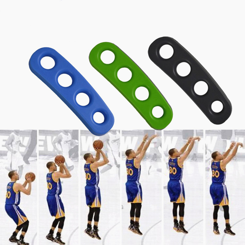 Hot Sale S/M/L Silicone Shot Lock Basketball Ball Shooting Trainer Training Accessories Three-Point  For Kids Adult Man Teens