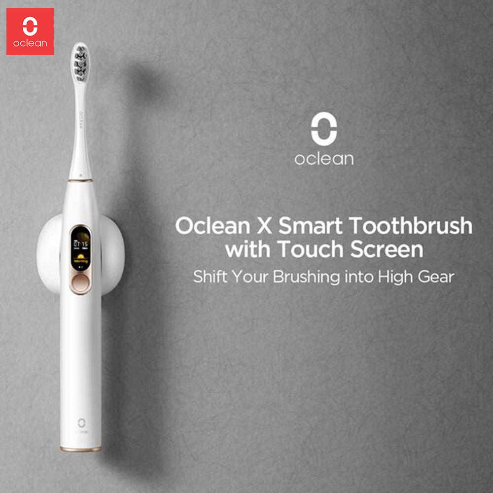 Oclean X, cepillo de dientes eléctrico sónico, cepillos de dientes recargables Ultra sónicos con pantalla táctil, cepillo de dientes eléctrico automático para adultos