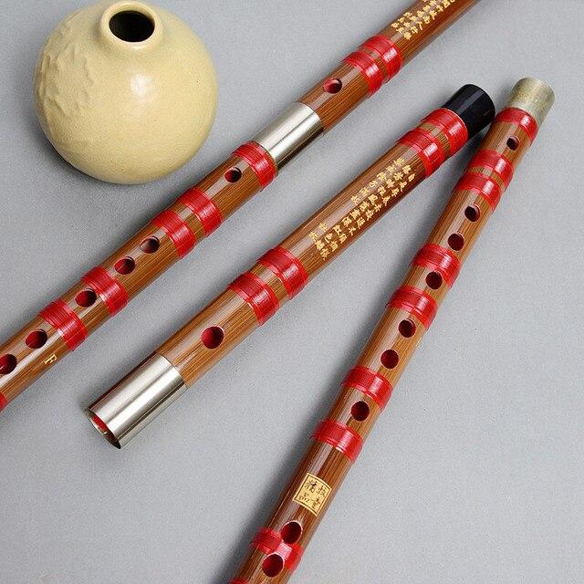 Guangya gorzki bambus drugi sekcja flet bambusowy początkujący profesjonalny gra poprzeczny flet instrument