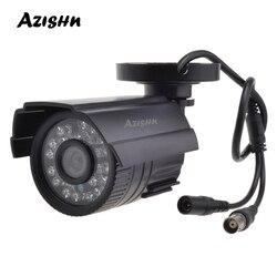 Камера видеонаблюдения AZISHN 800TVL/1000TVL, ИК-фильтр, 24 часа, дневное/ночное видение, водонепроницаемая инфракрасная камера видеонаблюдения