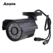 AZISHN CCTV מצלמה 800TVL/1000TVL IR לחתוך מסנן 24 שעה יום/ראיית לילה וידאו חיצוני עמיד למים IR Bullet מעקב מצלמה