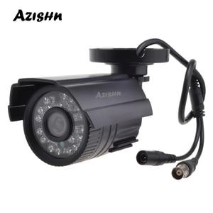 Image 1 - AZISHN CCTV Camera 800TVL/1000TVL  IR Cut Filter 24 Hour Day/Night Vision Video Outdoor Waterproof IR Bullet Surveillance Camera
