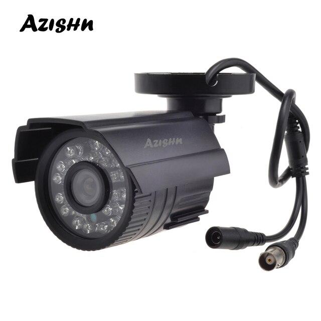 AZISHN CCTV Camera 800TVL/1000TVL  IR Cut Filter 24 Hour Day/Night Vision Video Outdoor Waterproof IR Bullet Surveillance Camera
