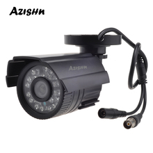 Azishn cctv 카메라 800tvl/1000tvl ir 컷 필터 24 시간 주/야간 투시경 비디오 실외 방수 ir 총알 감시 카메라