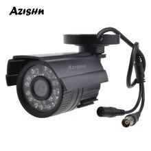 Câmera cctv azishn, 800tvl/1000tvl ir cut filtro, 24 horas, dia/visão noturna, para áreas externas, à prova d água câmera de vigilância