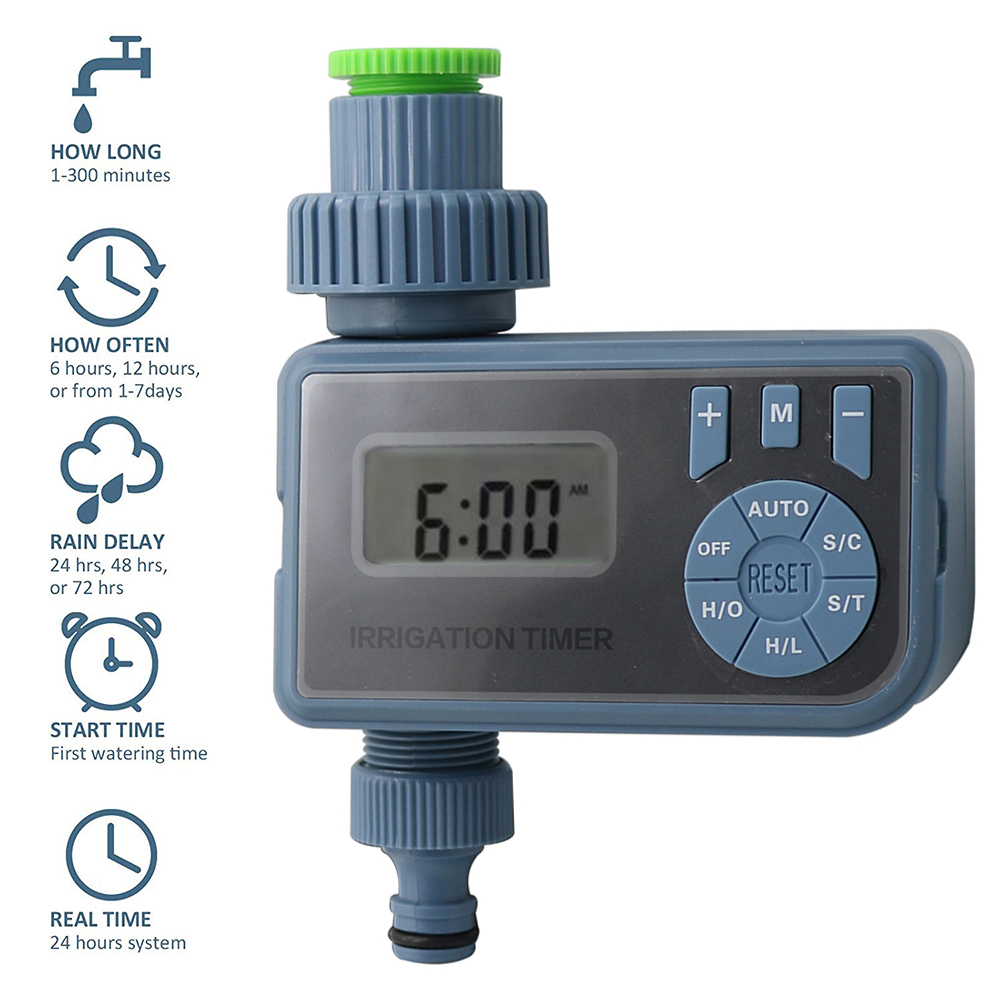 Automatic LCD Electronic Watering Timer Garden Sprinkler Irrigation Controller
