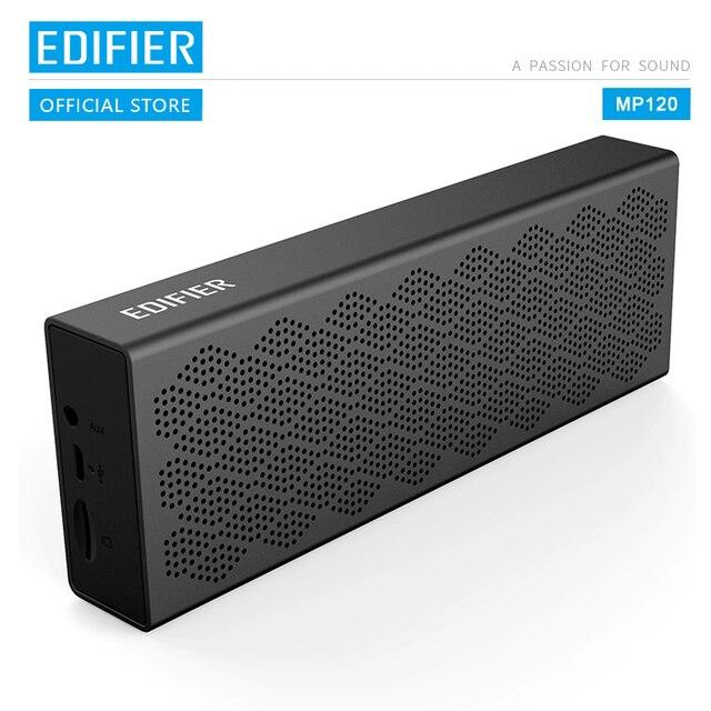 Edifier mp120 bluetooth alto falante bluetooth 5.0 suporte tf cartão aux entrada cnc tecnologia dupla gama completa alto falantes