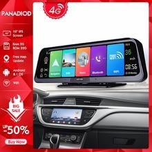 Видеорегистратор, 10 дюймов, Android 8,1, 2 Гб + 32 ГБ, ADAS, 4G, Wi-Fi, GPS, BluetoothCar, зеркальная камера, HD 1080P, видеорегистратор для авто