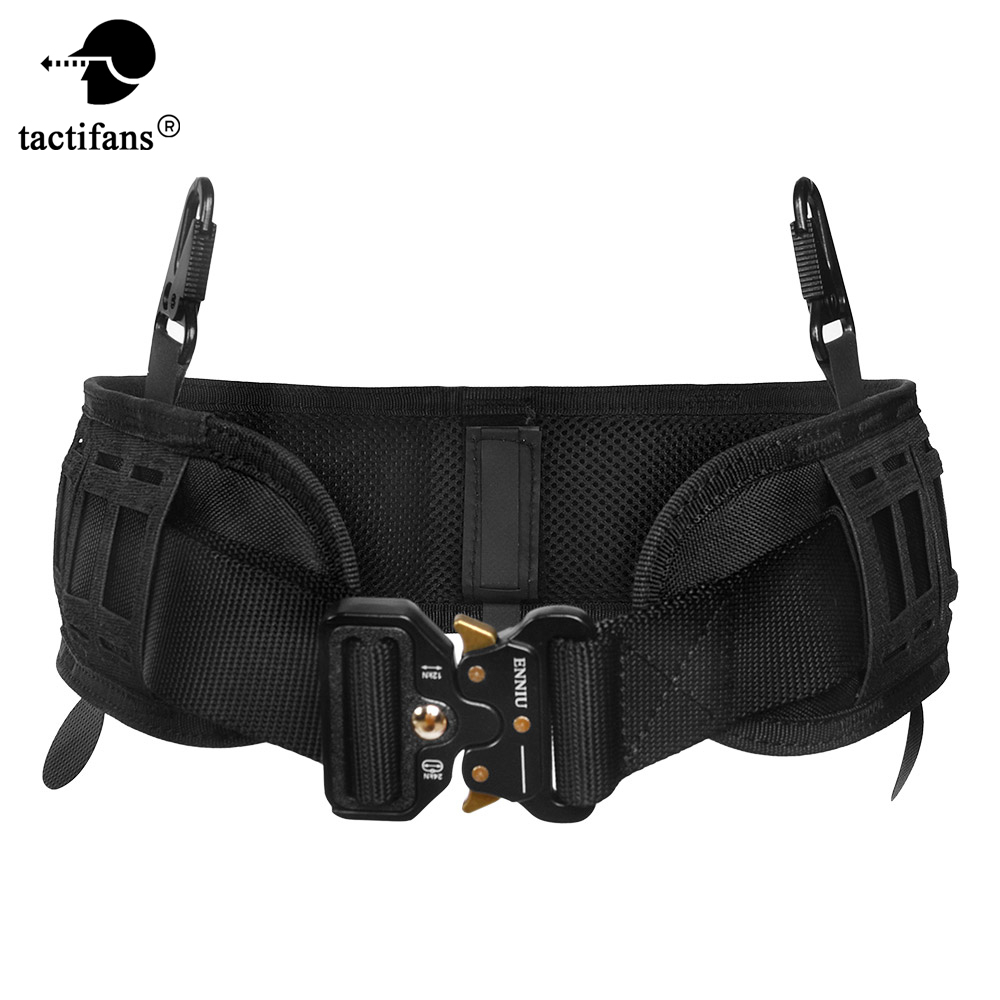 Army Tactical Molle Belt Men Military Gear Metal Buckle Knock Off Heavy Duty US Soldier Combat Belts Sturdy Nylon Hunting Waist