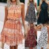 Summer Boho Floral Print Dress 2
