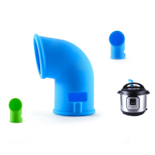 Скороварка с поворотом на 360 градусов, выпускное отверстие для скороварки, выхлопная труба для пищевого силикагеля, мгновенный горшок