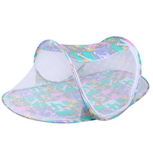 Baby Crib Netting Portable Foldable Baby Mosquito Net Baby Anti-mosquito Bedding Travel Bed Netting Play Tent Light Transmission