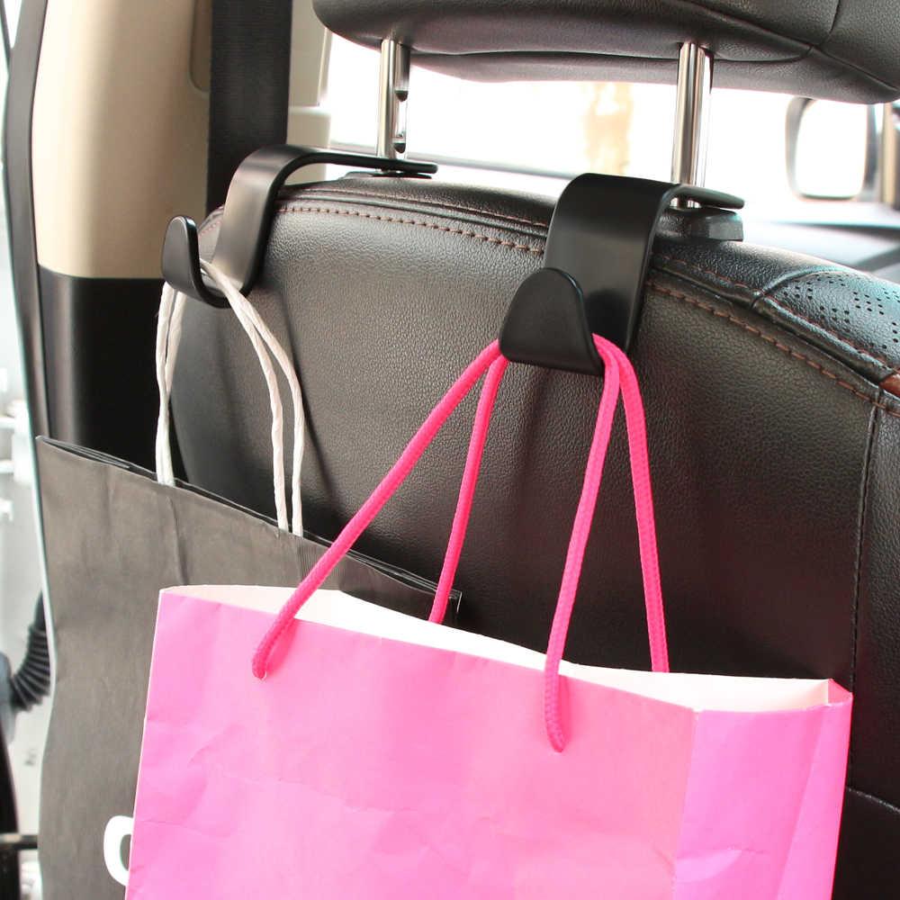 Auto Sedile Posteriore Ganci organizzatore Poggiatesta Hanger per Mercedes Benz A B C E S V M R CLS GLK CLK SLK Classe GLE W168 W169 W176 W177