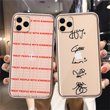 One Direction Harry Styles Love On Tour 2020 Phone Case For iPhone 12 mini X XR Xs Max 11 8 7 6 5 SE2020 clear Soft TPU Coque