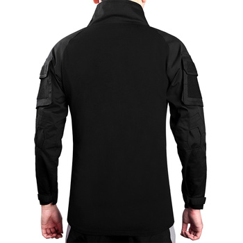 Men's Outdoor Tactical Hiking T-Shirts,Military Army Camouflage Long Sleeve Hunting Climbing Shirt,Male Breathable Sport Clothes 3