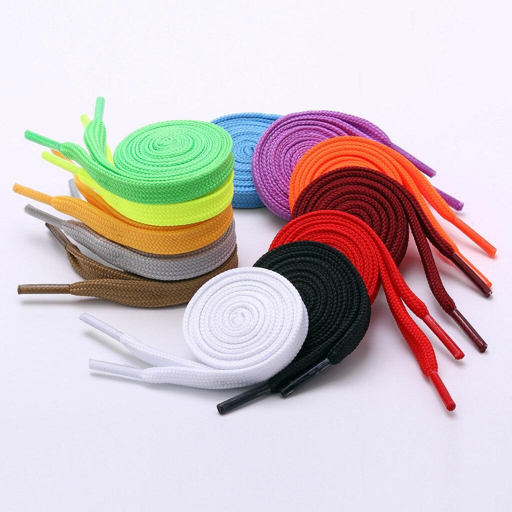 Купить 1 пара повседневных шнурков 12 цветов 80 см 120 140 мужские/женские