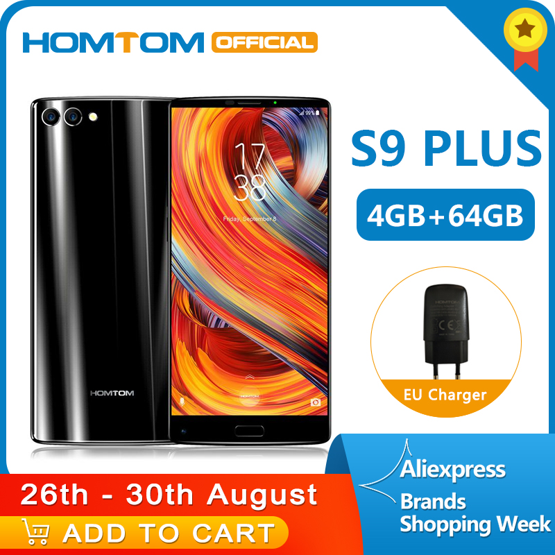 Version globale HOMTOM S9 Plus 18:9 HD + 5.99