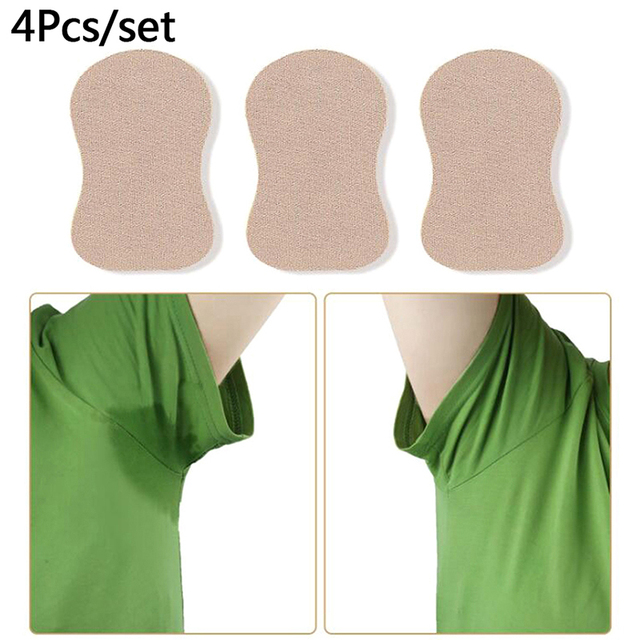 4pcs Sweat Pad Underarm Adhesive Sweat Pad Armpit Antiperspirant Deodorant Sweat-absorbent Stickers High Quality New 1