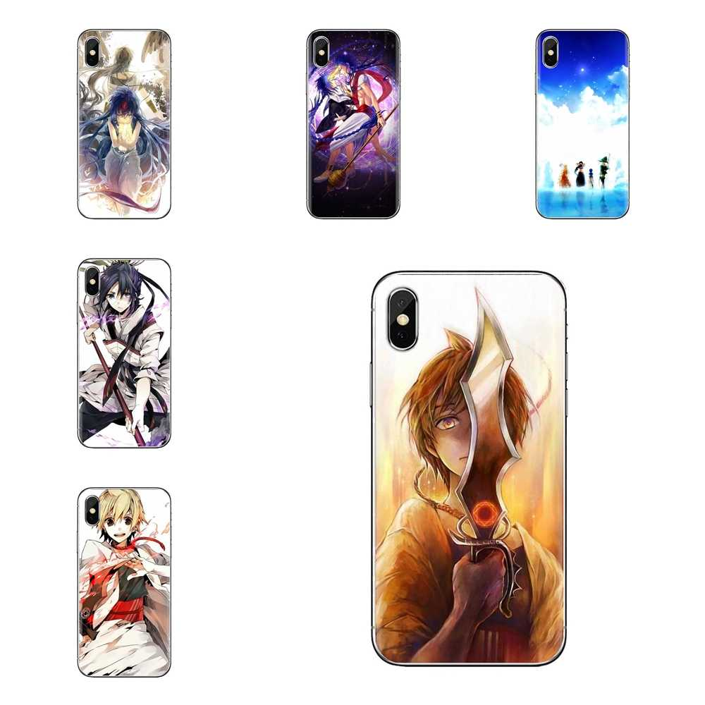 MAGI Yamuraiha Japan anime Voor Huawei Honor 7X V10 6C V9 6A Spelen 9 Mate 10 Pro Y7 Y5 P8 p10 Lite Plus GR5 2017 Telefoon Shell Cover