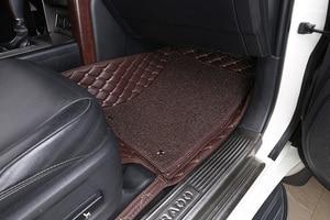 Image 5 - רצפת המכונית מחצלת עבור Lada טויוטה לנד קרוזר 100 200 Prado120 150 peuge קאמרי קורולה הנצח Kia BMW יונדאי פולקסווגן ניסן