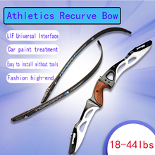 1pc Archery 68inch 18-44Lbs Recurve Bow Outdoor Athletic Hunting Shooting Competition Aluminum Hand And Arrow