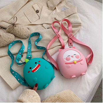 2020 New Waterproof Silicone Kids Backpacks Girls For School Students Travel Shoulder Backpacks Children Schoolbags Women Bags miyahouse female harajuku ulzzang soft velvet backpacks teenagers girls koreanstyle velour shoulder schoolbags women travel bags